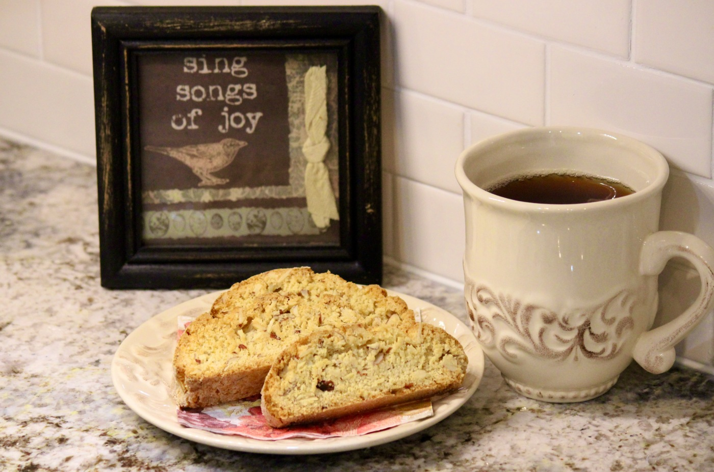 Zia Nina's biscotti